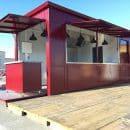 restaurant en container